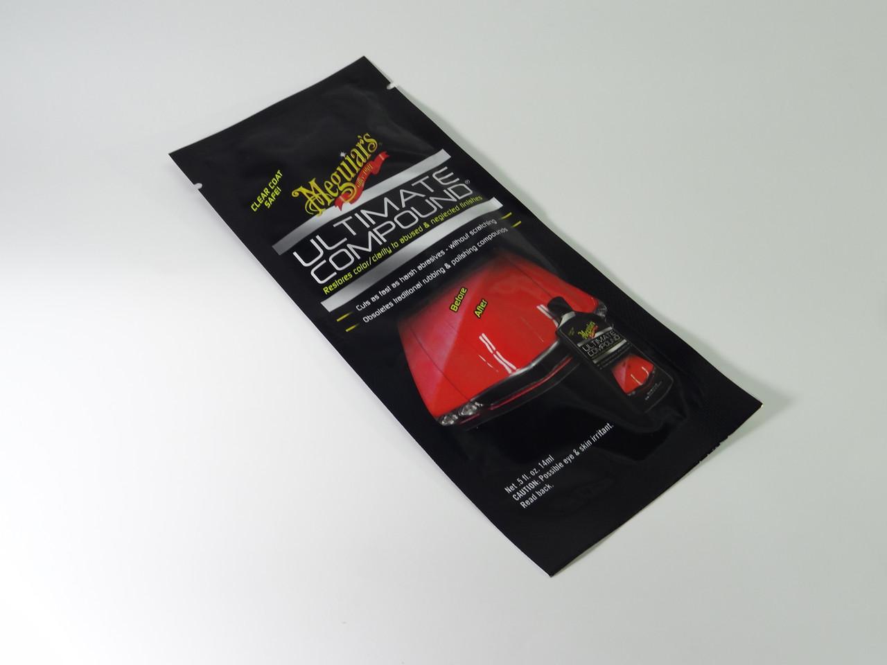Тестер микроабразивной полироли для кузова - Meguiar's Ultimate Compound 14 мл. (G172001T)