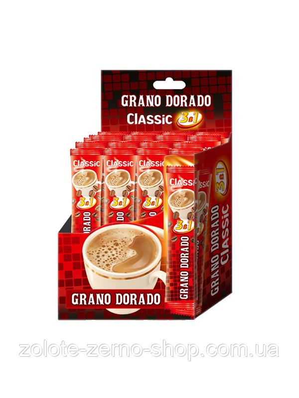 Кава Мікс 3 в 1 Grano Dorado Classic 13 г