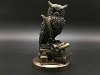 """Дизайнерская статуэтка Veronese """"Сова на книгах"""" 75033A4"""