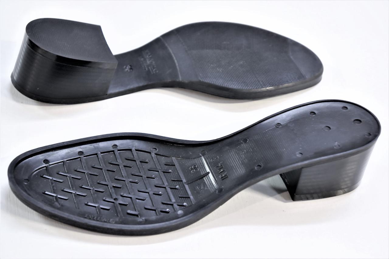 Подошва для обуви Ирма-2 черная р,36-41