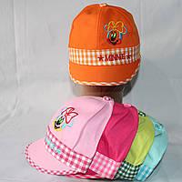 Кепка для девочек  р-р 50 (разные расцветки) оптом недорого. Одесса.