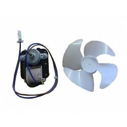 Двигатель вентилятора + крыльчатка для холодильника Beko IS-23213ARC 4144890201