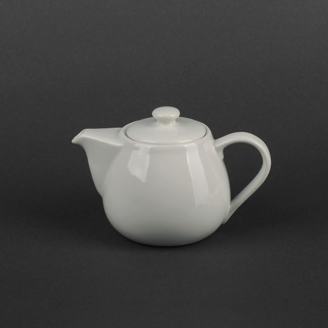 Чайник-заварник білий порцеляновий для ресторанів HLS 450 мл (HR1505)