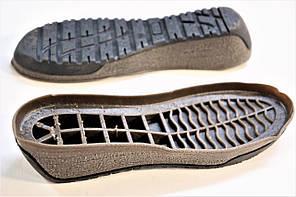 Подошва для обуви женская Марго-3 коричнева р.36-41, фото 2