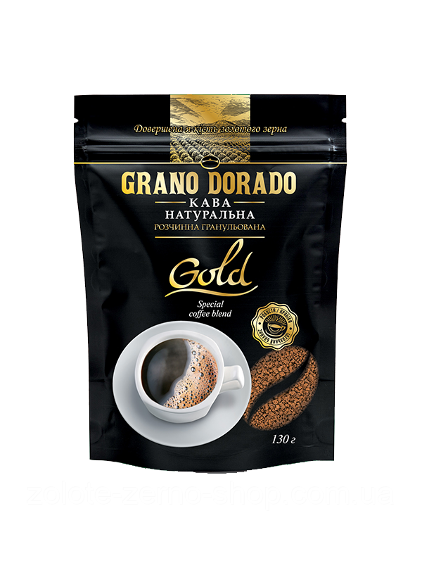 Кава розчинна гранульована Grano Dorado Gold 130 г