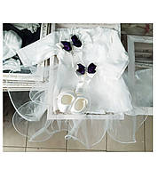 Набор на крещение для девочки, в коробке, фото 1