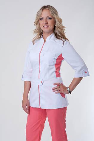Медицинский женский костюм К 3224 ( коттон 40-56 р-р ), фото 2