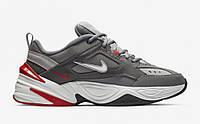 """Кроссовки мужские Nike m2k Tekno Grey """"Серые"""" р. 41-45, фото 1"""