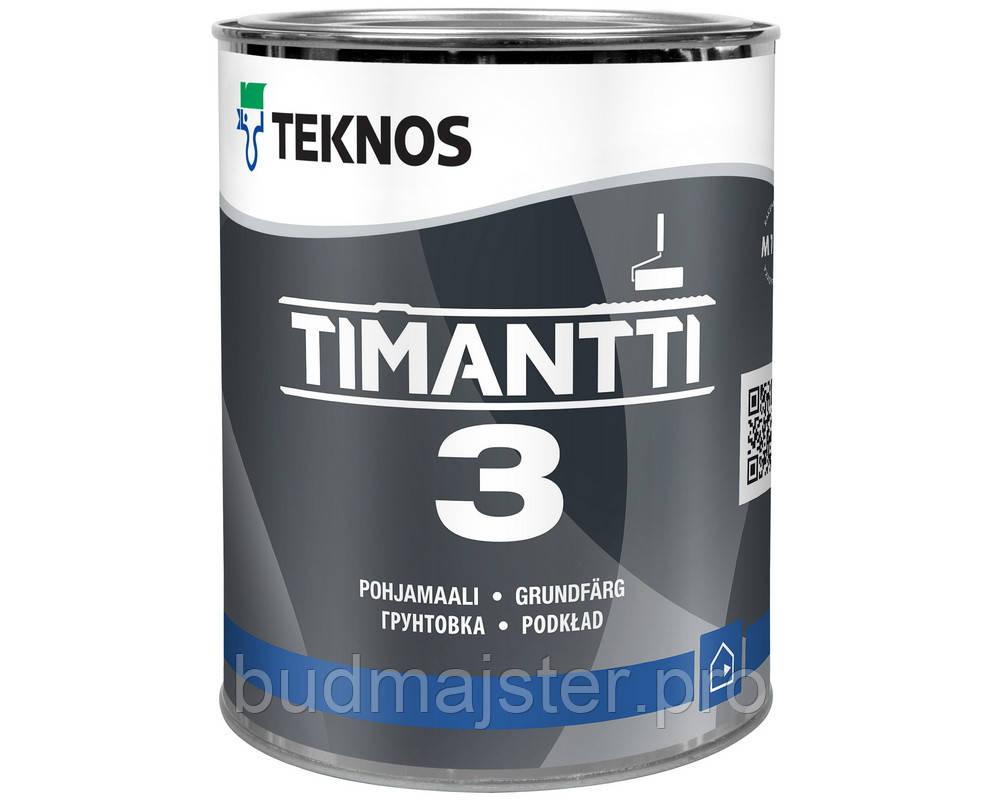 Фарба Teknos Тімантті 3 грунтуюча Б1, 0,9 л