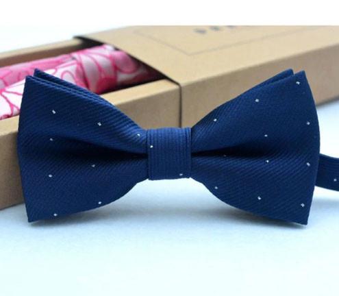 Бабочка галстук для мальчика синяя
