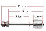 Поплавковий датчик рівня води або іншої рідини (верхній) з нержавійки, фото 2