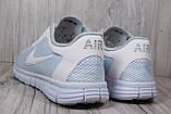 Белые кроссовки сетка в стиле Nike Free Run 3.0 унисекс, фото 3