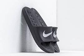 Тапочки nike kawa shower черный, фото 3