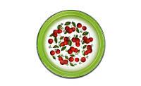 Блюдо эмалированное 2 л. Вишневый сад