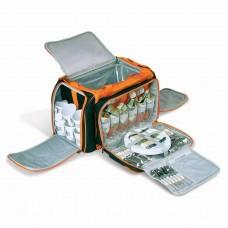 Набор для пикника: Термосумка 28л + набор посуды на 6 персоны BBQ-303