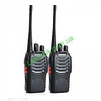 Комплект радиостанций Baofeng bf-888s (2шт) c гарнитурами!