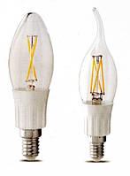 """Филаментные светодиодные лампы накаливания - """"назад в будущее"""""""