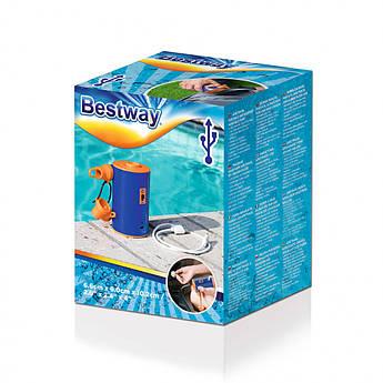 BW Насос 62101 аккум, USBзарядное, в кор-ке,