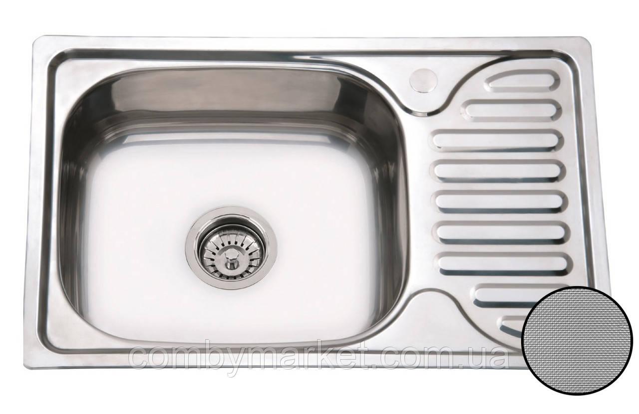 Кухонная мойка Mirela Textură, 660 х 420 мм