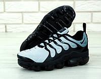 """Кроссовки мужские Nike Air Vapormax Plus """"Белые с черным"""" найк вапормакс р. 41-45, фото 1"""