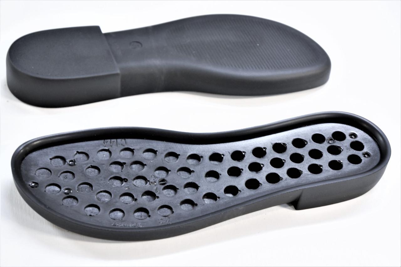 Подошва для обуви С144 черная р,36-41