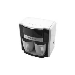 Капельная кофеварка с 2 чашками Domotec MS-0706 White