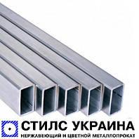 Алюминиевая труба  15х15х1,0 мм марка АД31   профильная