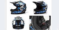 Кроссовый шлем детский CROSS ENDURO WL-801A