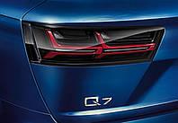 Фонари задние светодиодные Audi Q7 Blackline 4M0052100A, фото 1
