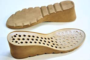 Подошва для обуви женская С553 бежевая р,36-41, фото 2