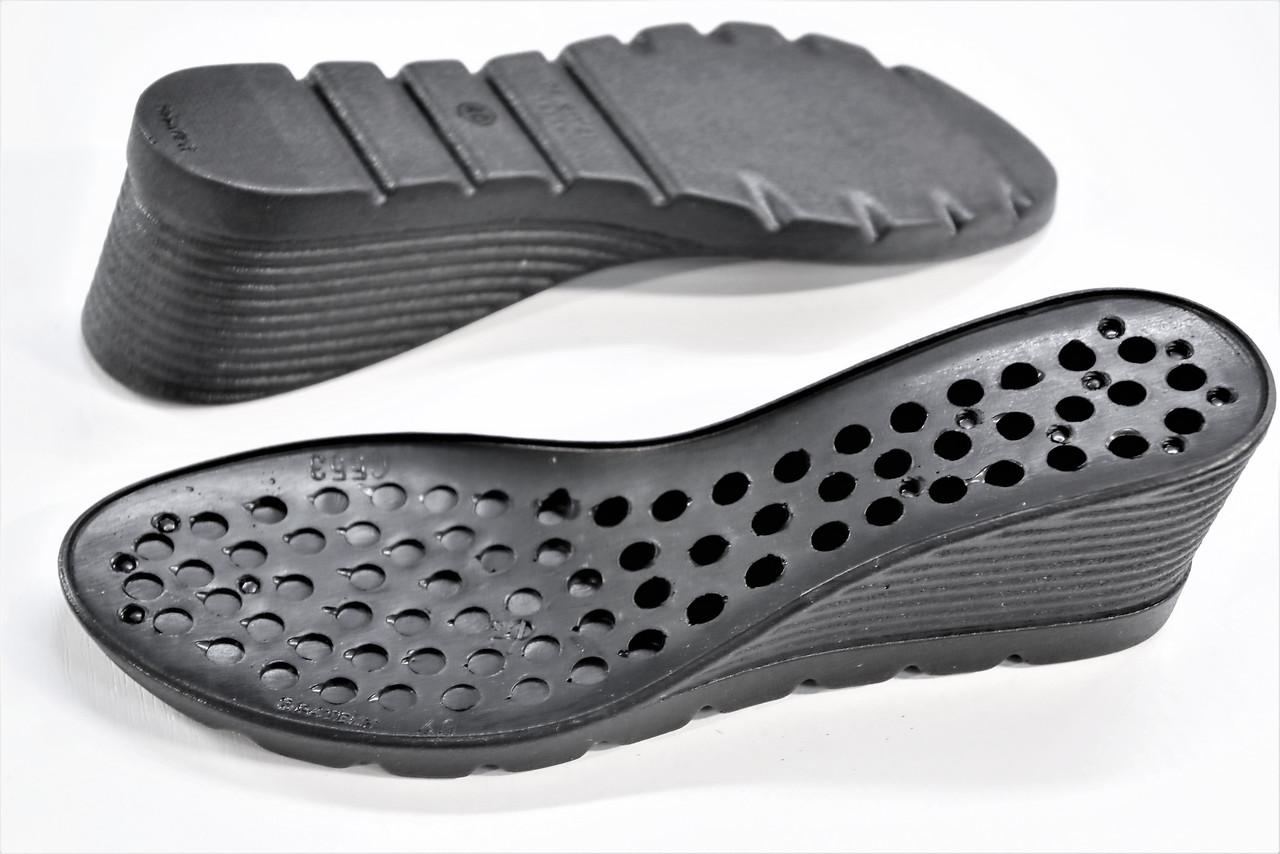 Подошва для обуви женская С553 черная р,36-41
