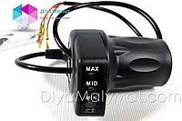 Ручка газа с индикатором заряда аккумулятора 36V для детского электро квадроцикла Profi HB-6\Crosser