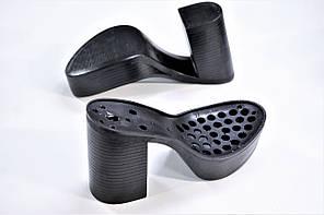 Подошва для обуви женская C 715 чорна р.36-41, фото 2