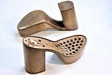 Подошва для обуви женская C 715 коричнева р.36-41, фото 2