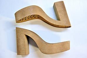 Подошва для обуви женская C 833 бежева р.36-41, фото 2