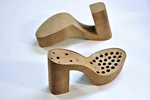Подошва для обуви женская C 833 бежева р.36-41, фото 3