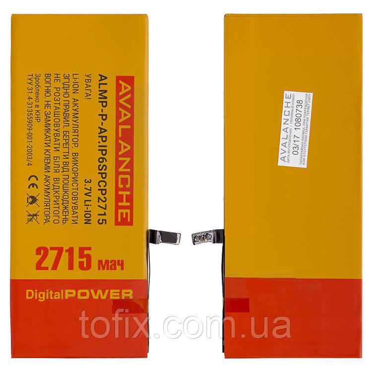 Батарея (акб, аккумулятор) Avalanche для iPhone 6S Plus, 2715 mAh, #ALMP-Р-AP.iP6spCP2715, оригинал
