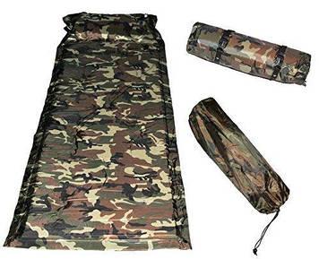 Самонадувний килимок каремат 180х60см якісний надійний універсальний bestway original sport