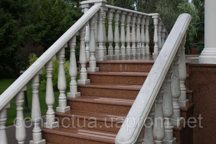 Лестницы, ступени из гранита - ЧП «Контакт» в Житомирской области