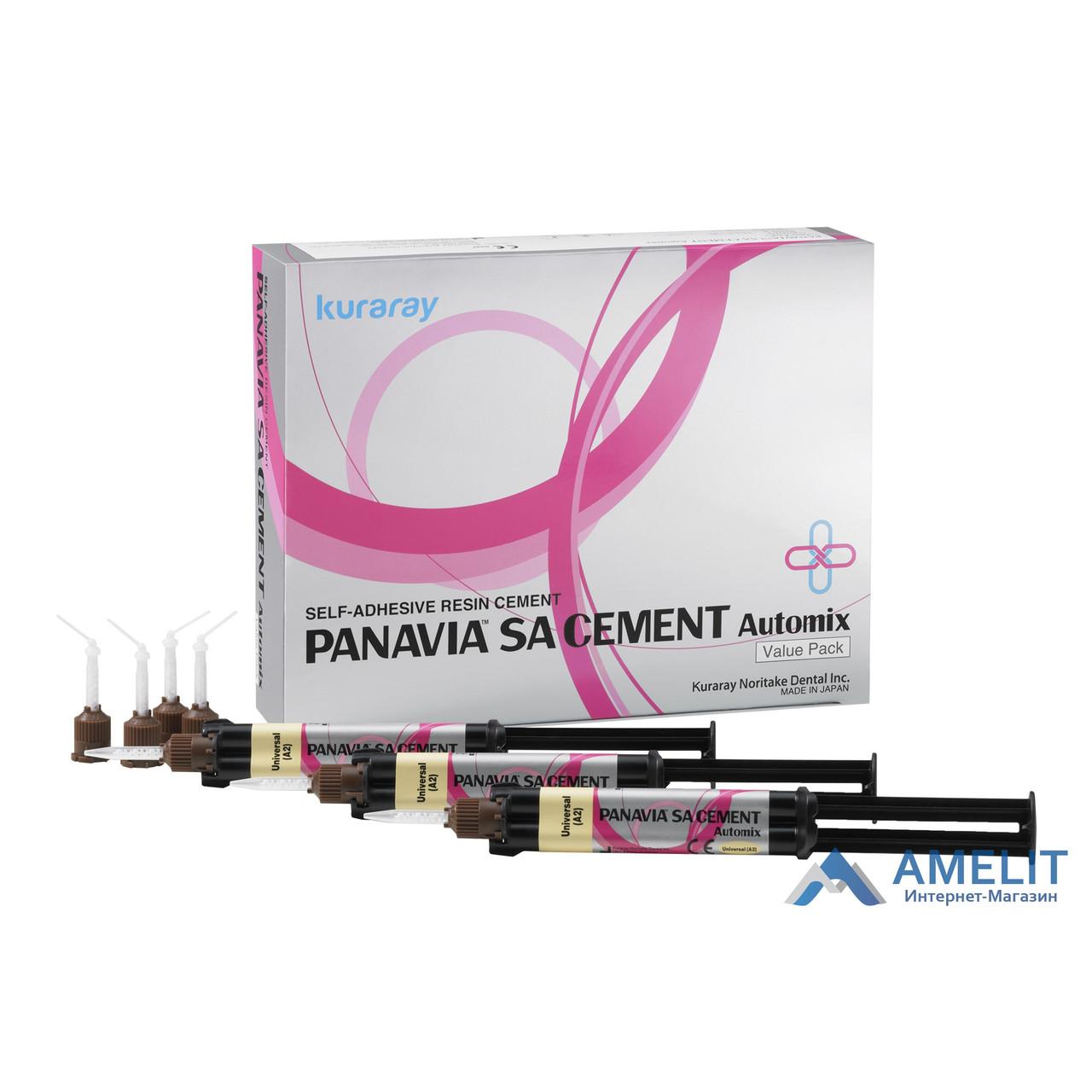 Панавиа есе цемент автомикс (Panavia SA Cement Automix, Kuraray Noritake Dental Inc.), шприц 8,3 р./4.6 мл.
