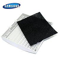 Решетка выходного фильтра  в комплекте с микро фильтром для пылесоса Samsung DJ64-00474A
