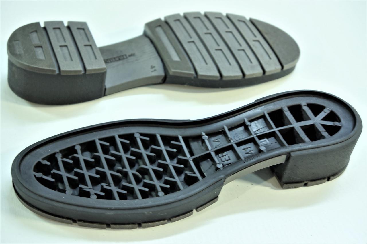 Подошва для обуви женская Терра-4 коричнева р.36-41