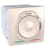 Термостат кондиционирование и отопление 8А +5...30°С Слоновая кость Schneider Electric Unica (MGU3.501.25)