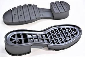 Подошва для обуви женская Терра-4 чорна р,36-41, фото 2