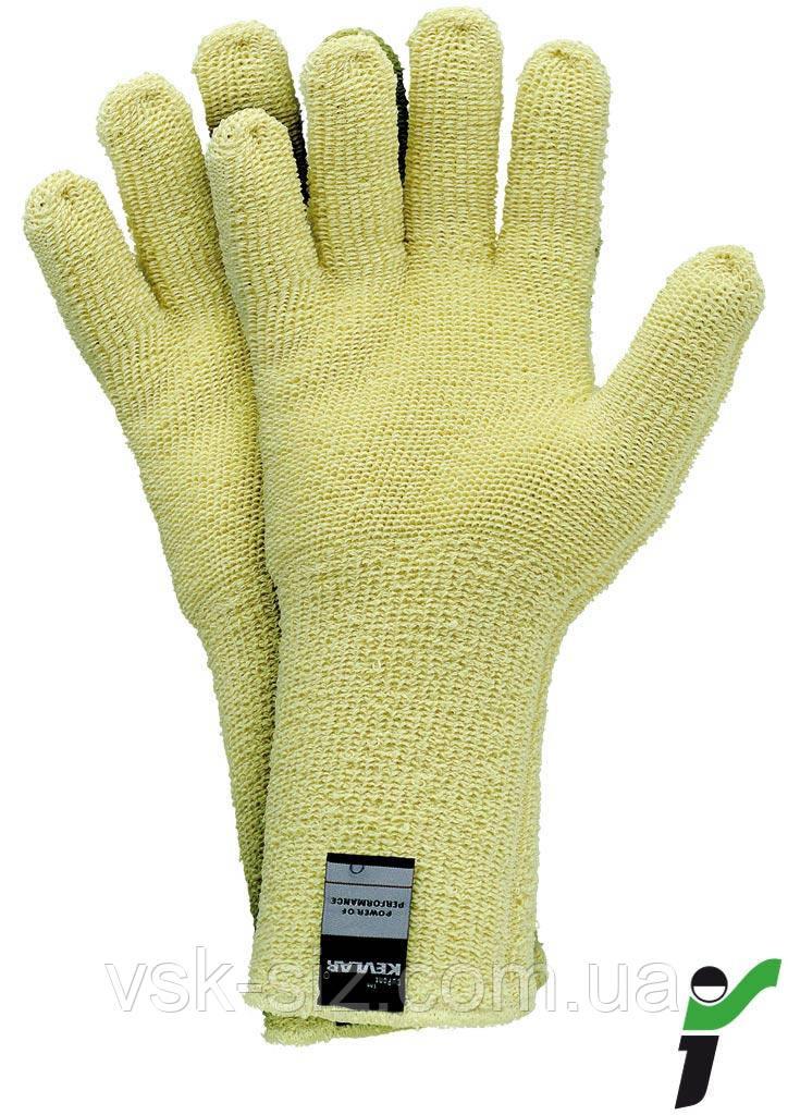 Перчатки защитные трикотажные термостойкие RJ-KEFRO35