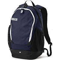 Рюкзак спортивный Puma Vibe Peacoat 075491 02 (темно-синий, не промокаемое днище, 20 литров, логотип пума), фото 1