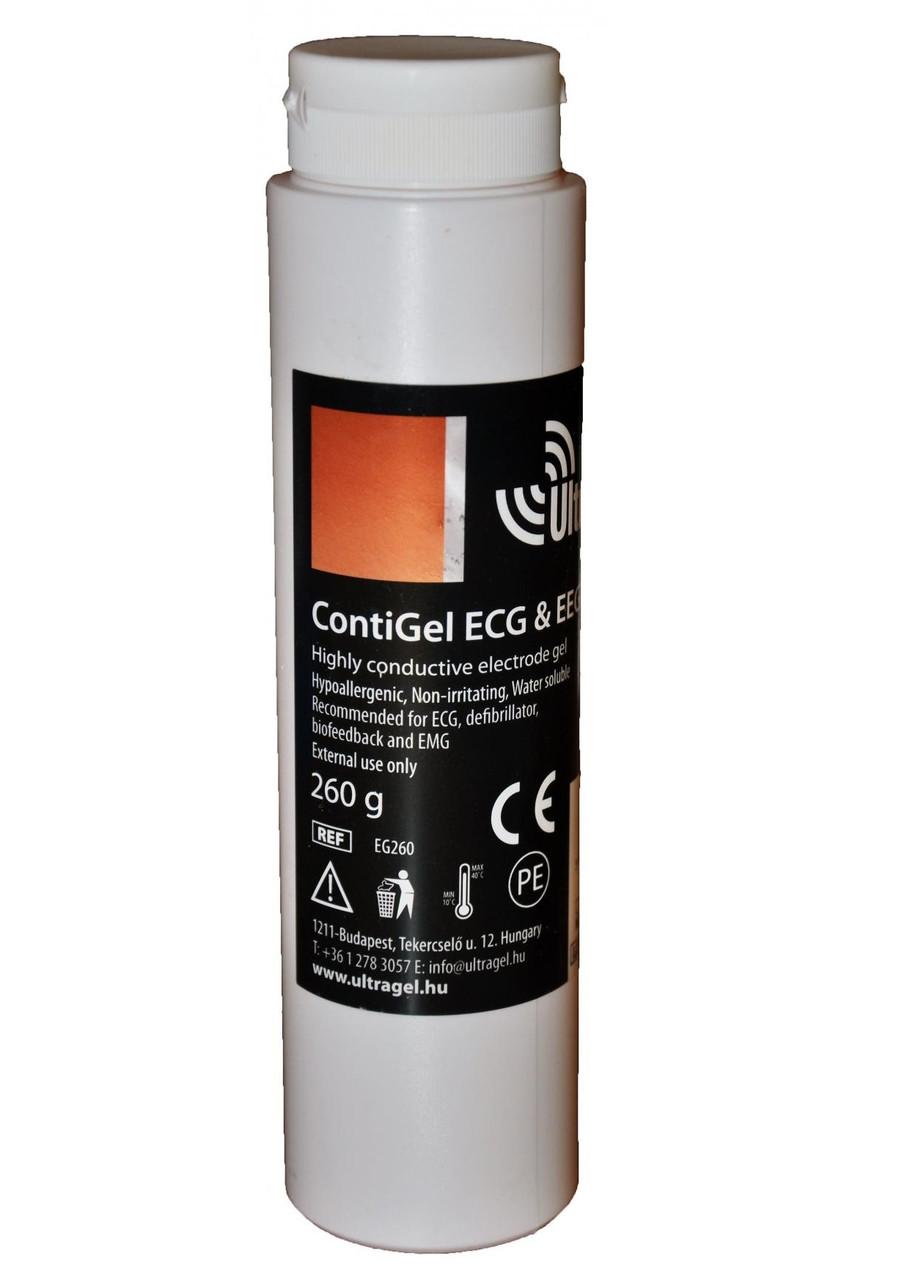 Струмопровідний гель для міостимуляторів і поясів для схуднення Ultragel CONTI GEL 260 мл
