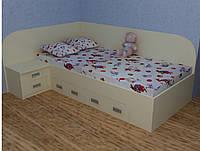 Кровать подростковая КПДСП 709