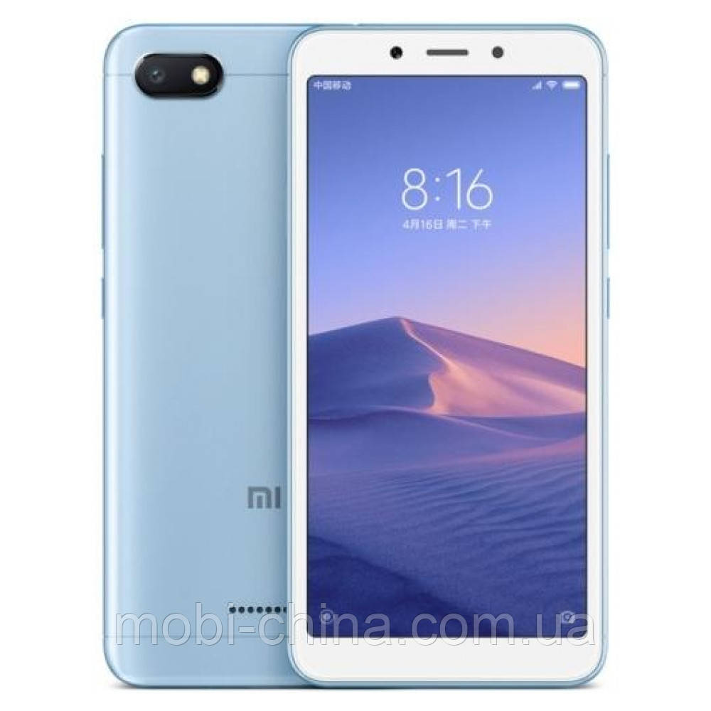 Смартфон Xiaomi Redmi 6A 32Gb Blue EU