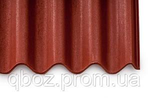 Кровельное покрытие Керамопласт - Волна с капелярной канавкой. Терракот, фото 2